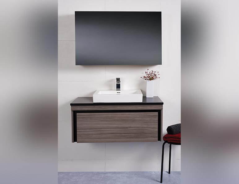 Mode Envy 900 With Caesarstone Top And Plaza Basin