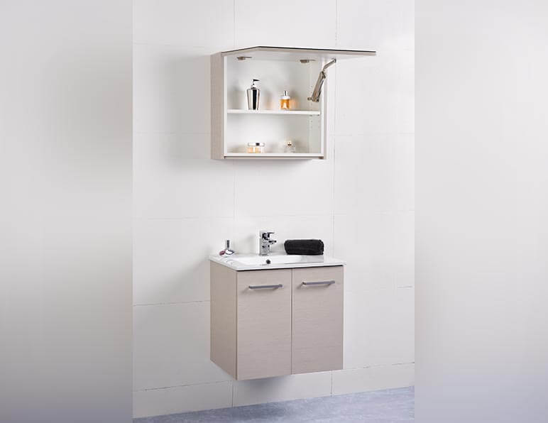 Mode Metro 600 With Tilt Door Mirrored Shaving Cabinet