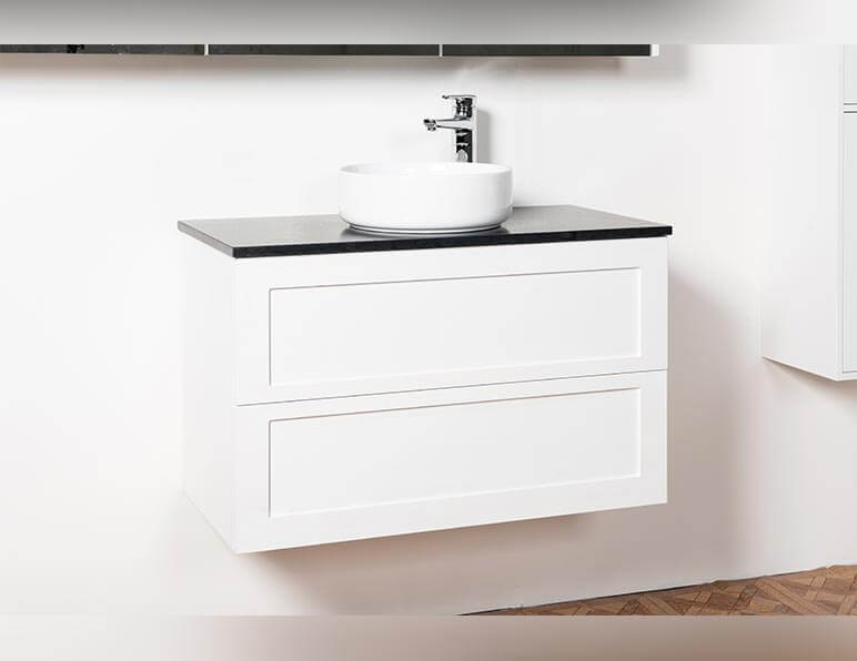 Mode Now 900 With Caesarstone Top And Cirque Basin
