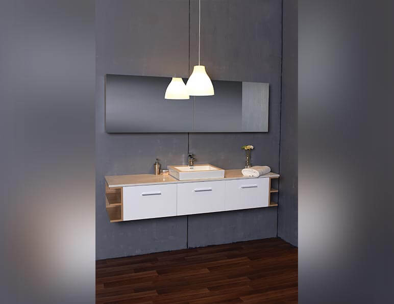 Mode Rain 1800 With Mirrored Shaving Cabinet