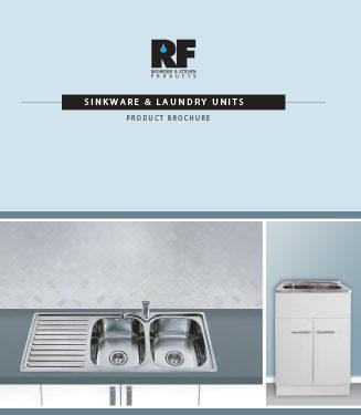 Rf Sinkware + Laundry Tubs Brochure 2018