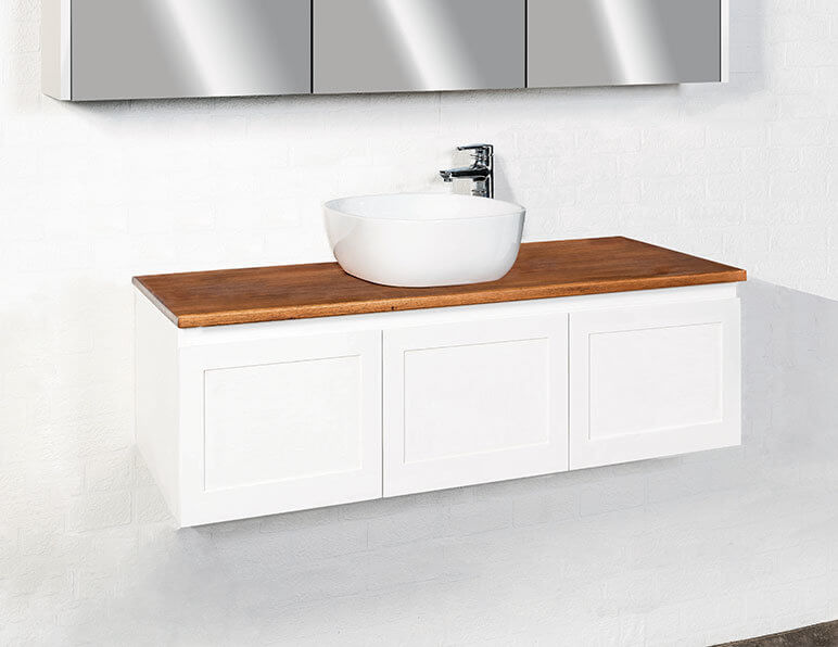 Virtue Vanity 1200 With Timber Top