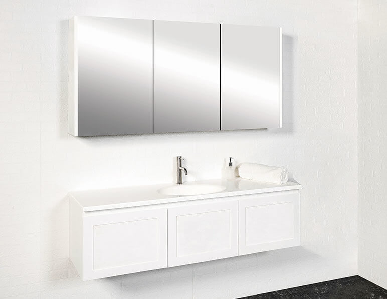 Virtue Vanity 1500mm Premier Single Bowl